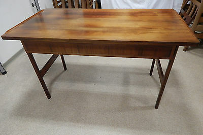Schreibtisch + Stuhl Teakholz 70ziger Jahre