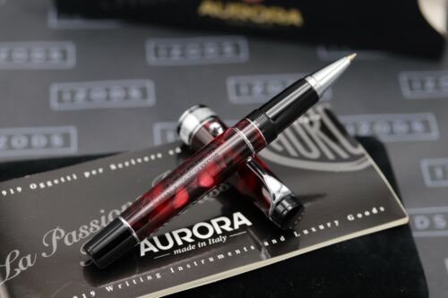 Aurora Optima Burgundy Rollerball Pen - UNUSED 1