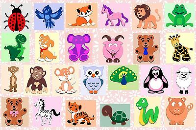 Brother ScanNCut Layered Animal topper templates CD1061