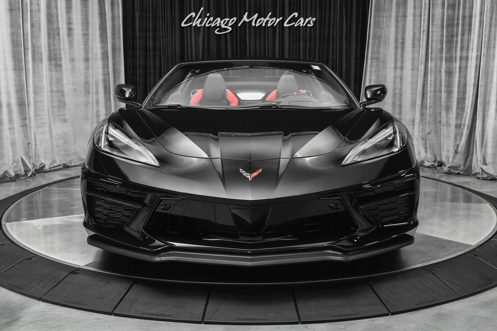 2021 Black Chevrolet Corvette Convertible Z51   C7 Corvette Photo 7