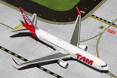 Gemini Jets TAM Boeing 767-300ER GJTAM1480 1/400 REG# PT-MSY. New