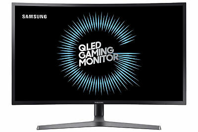 "Samsung C27HG70 27"" HDR QLED Curved Gaming Monitor, Dark Blu"