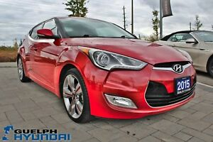 2015 Hyundai Veloster LEATHER, SUNROOF,BACKUP CAM &MORE!