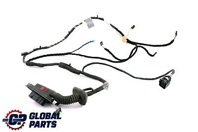 *BMW 5 Series E60 E61 LCI Passengers Side Front Left N/S Door Wiring Loom 917587