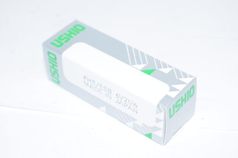 NEW Ushio FHE/ESB 6V20W Halogen Light Bulb