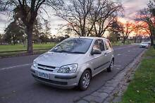 **Hyundai Getz - Low Ks, Long Rego! Must sell this week!** Windsor Stonnington Area Preview