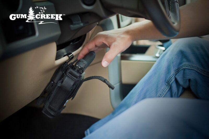 Gum Creek Vehicle Handgun Mount GCC-UVHHM-BLK Car Truck Pistol Holster Mount