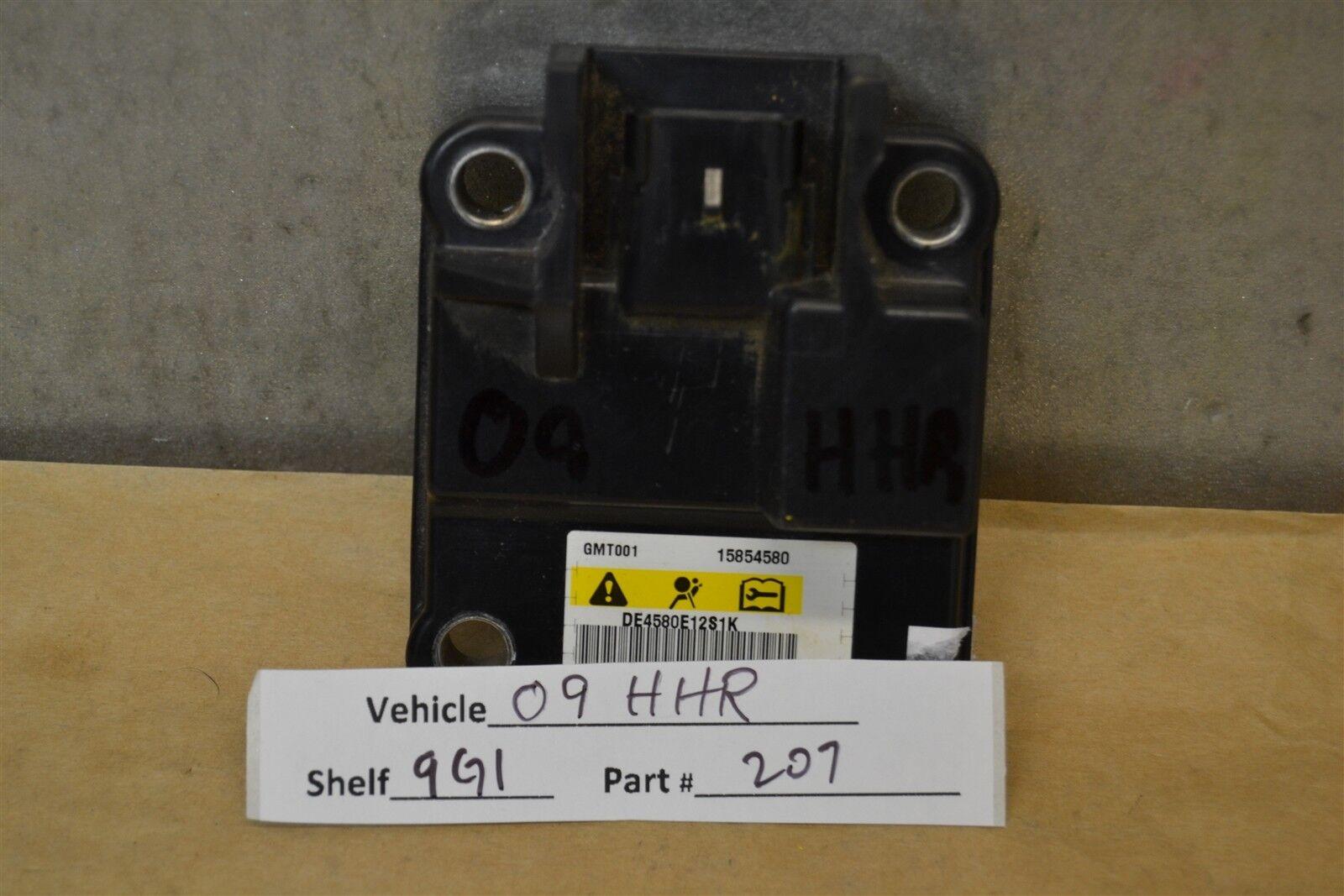 2009 Chevrolet HHR Air Bag System Control Unit 15854580 Module 07 9G1