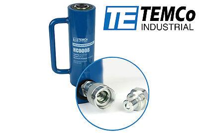 Temco Hc0008 - Hydraulic Cylinder Ram Single Acting 10 Ton 6 Inch Stroke