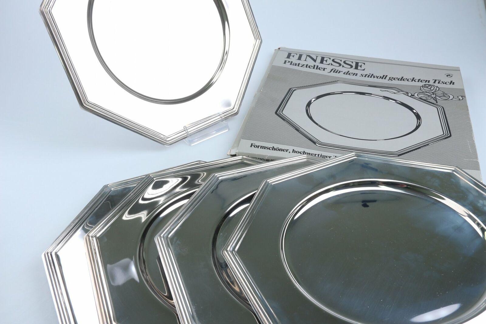 5x Platzteller in OVP FINESSE  Unbekannte Hersteller