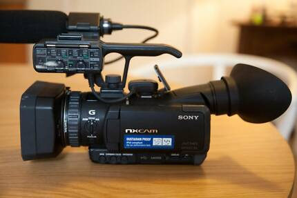 Sony HXR-NX70P 96GB Professional Camcorder - Black Claremont Nedlands Area Preview