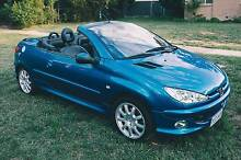 2003 Peugeot 206 CC Convertible Manual MY02.5 Farrer Woden Valley Preview