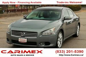2009 Nissan Maxima SV NAVI | Leather | Sunroof | CERTIFIED