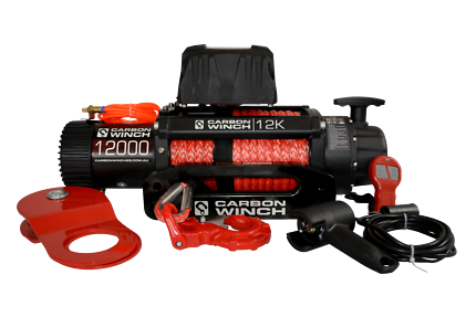 Carbon 4x4 Recovery Winch 12000lb Redhead Lake Macquarie Area Preview