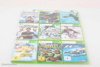 Konvolut 9x Xbox 360 Spiele Lost Planet 2, Assassin´s Creed Brotherhood, Brin...