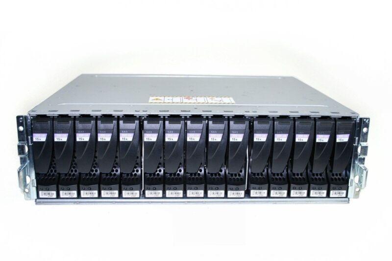 Emc Vnx-6g-dae 15 Bay V31-dae-n-15 W/ 15 X Vx-vs15-300 300gb 15k Rpm Sas Drive