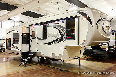 New 2019 Compass 298RLC Rear Living Room Luxury 3 Slide Out 5th Fifth Wheel