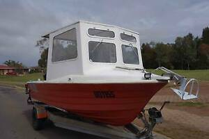 Custom built boat for diving and fishing, walk in cabin, ladder Paralowie Salisbury Area Preview