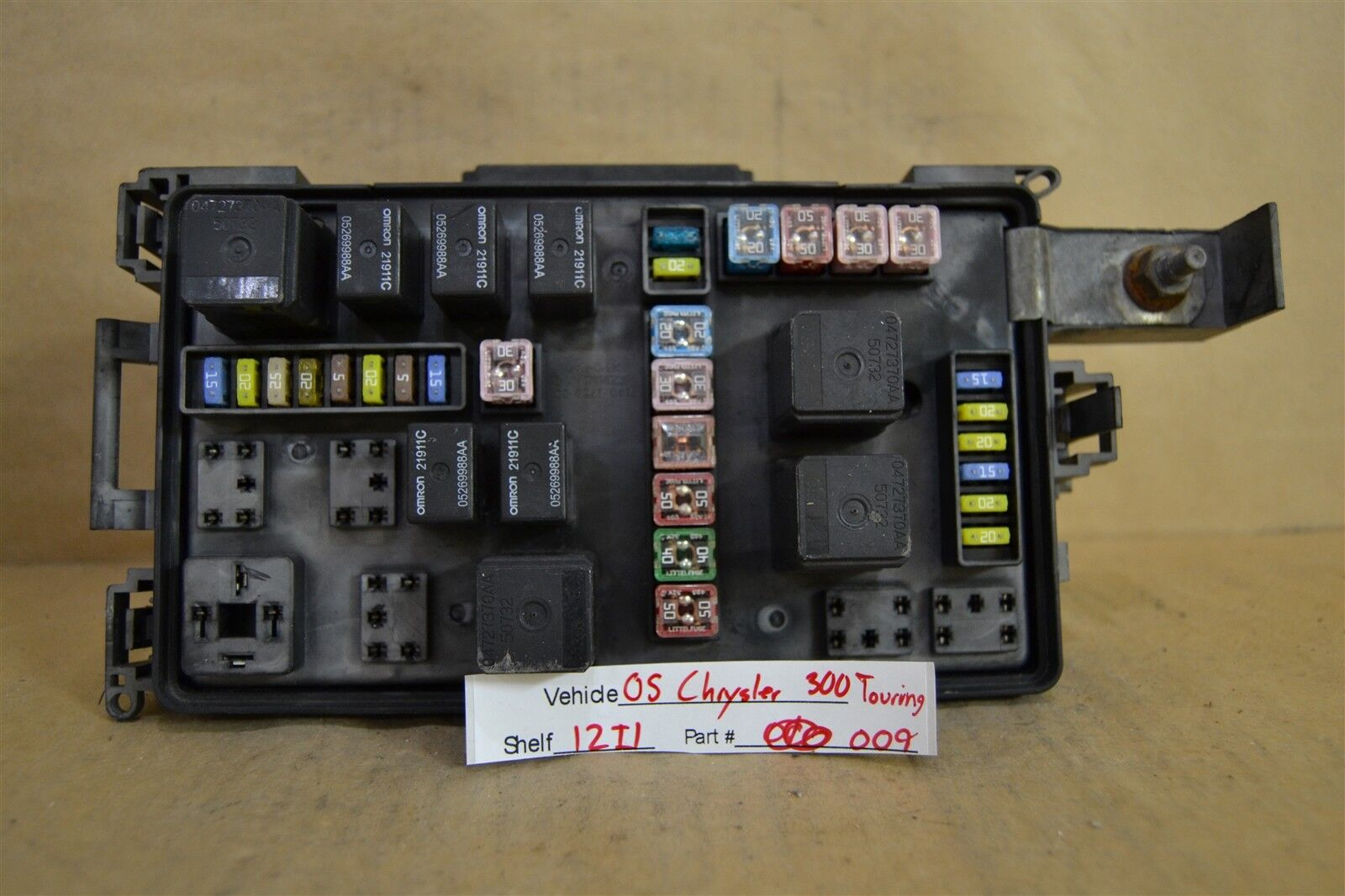 Used Chrysler Computers Chips Cruise Control And Related Parts For 2000 300m Fuse Box 2005 Relay W Light Unit 7140179830 Module 2009 12i1