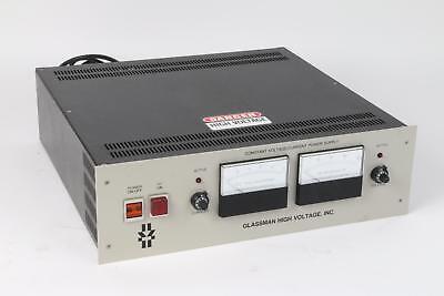 Glassman High Voltage Constant Voltagecurrent Power Supply 20kv 15ma