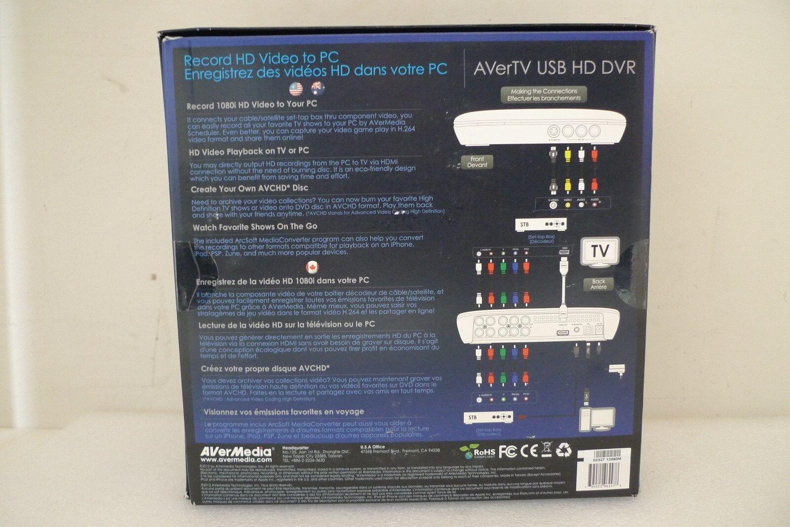 Mtvuhdrfc Avertv Usb Hd Dvr # Designe De Support De Television