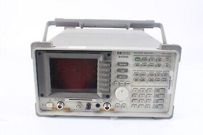 Hp 8591e Spectrum Analyzer 9 Khz - 1.8 Ghz W Tracking Generator 010 041 140