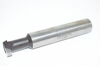 Criterion SBT-750 3//4 Carbide Tipped Boring Bar Threading Tool USA