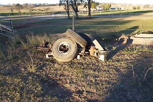 Axles, Tyres and Rims to suit light truck or trailer Warwick Southern Downs Preview