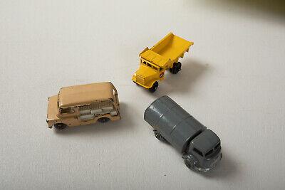 Matchbox Lesney Lot 3 Truck Vehicles(B7A) Bedford 29 Karrier 38 Euclid Quarry 6