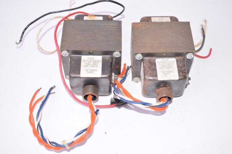 Lot of 2 BLU-BLK7WHT 6.3V 30VA Transformers