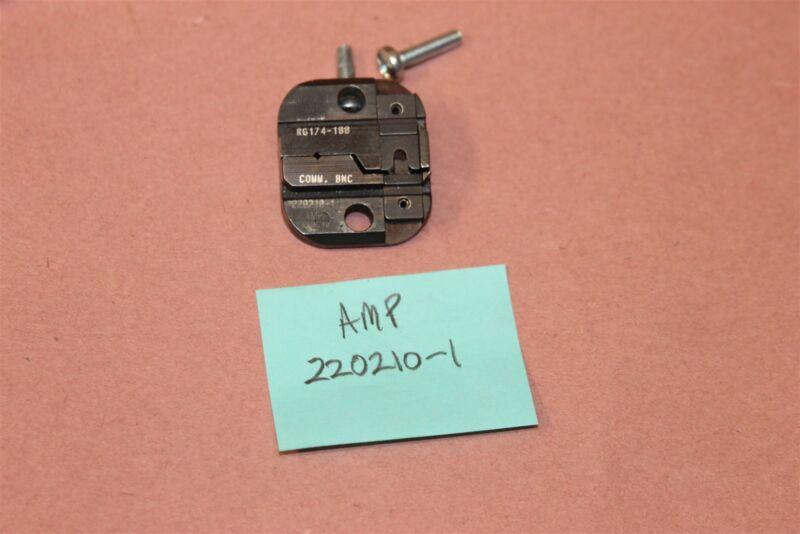 AMP TE Connectivity Ferrule Crimp & Die Set  220210-1 LOT # 13