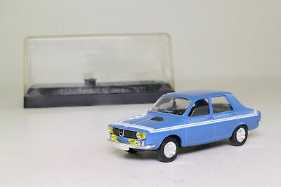 RENAULT 12 R12 GORDINI 1971 SOLIDO N°1857 1/43 RACING BLEU AVEC BANDES BLANCHES