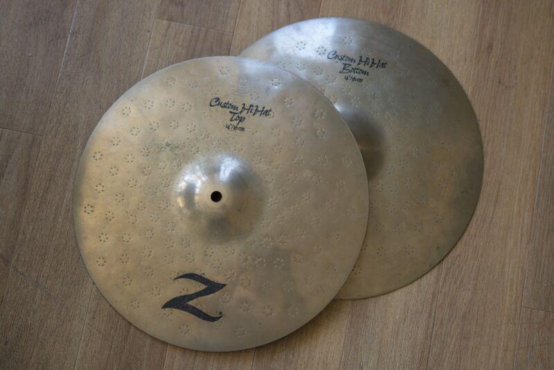 Zildjian Original Z series Custom Hi Hat 14