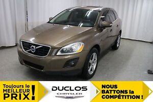 2010 Volvo XC60 T6 AWD, CUIR, TOIT PANO, MAGS, SURV. ANGLES MORT