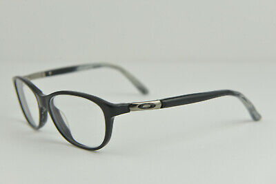 WIDE Oakley Downshift Polished Black 52-16-135 Eye Glasses Frames OX1073-0152 (Wide Eye Glasses)