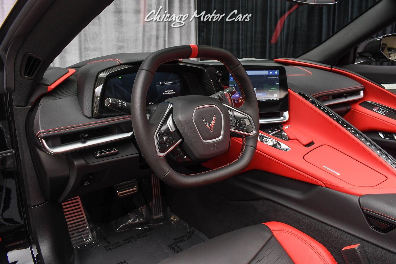2021 Black Chevrolet Corvette Convertible Z51   C7 Corvette Photo 8