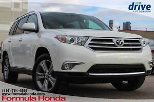 2013 Toyota Highlander V6 LEATHER | SUNROOF | HEATED SEATS | AWD