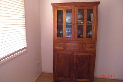 Asian style china cabinet