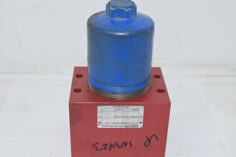 Hydac HYCON DFPBH/60 QB101.0/V Hydraulic Pressure Filter 4500 PSI