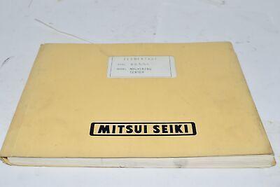 Mitsui Seiki Elementary Vs 35a Machining Center Manual Fanuc Om M