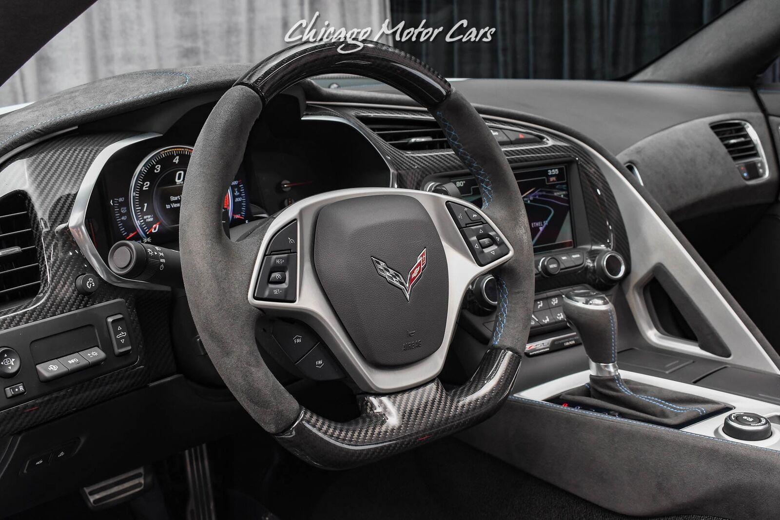 2018 White Chevrolet Corvette Z06 3LZ | C7 Corvette Photo 10