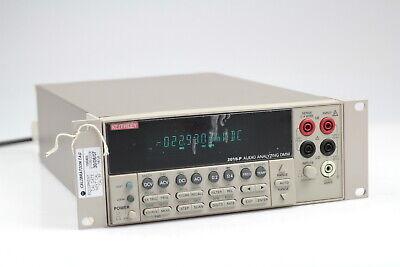 Keithley 2015-p 6 12-digit Audio Analyzing Multimeter