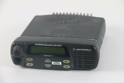 Motorola Cdm1250 Aam25skd9aa2an 2-way Radio- Fair Condition