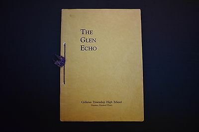 1930 The Glen Echo Codorus Township High School Glenville Pa Unsigned Yearbook