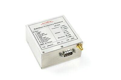 Accubeat Rubidium Frequency Standard Ar-60a 10mhz 15v Sine 9