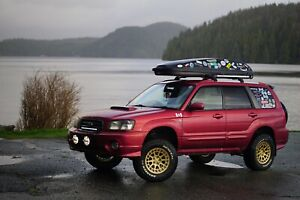Lifted JDM 2002 Forester XT