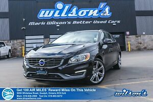 2015 Volvo V60 Premier Plus - NEW TIRES! Leather, Sunroof, Heate