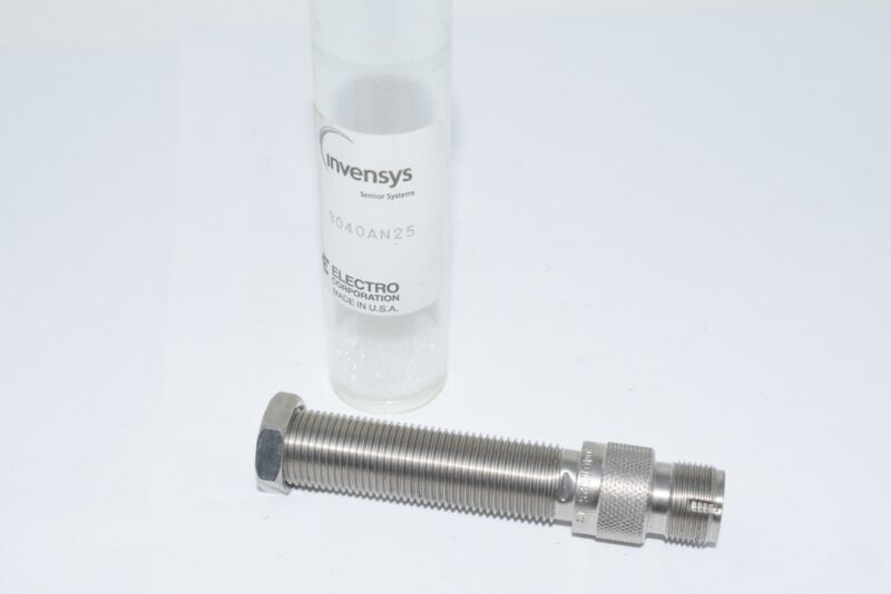 NEW Honeywell EC 3040AN25 Vibration Sensor -55 - +120 degC 19.05 (Dia.) x 91.88
