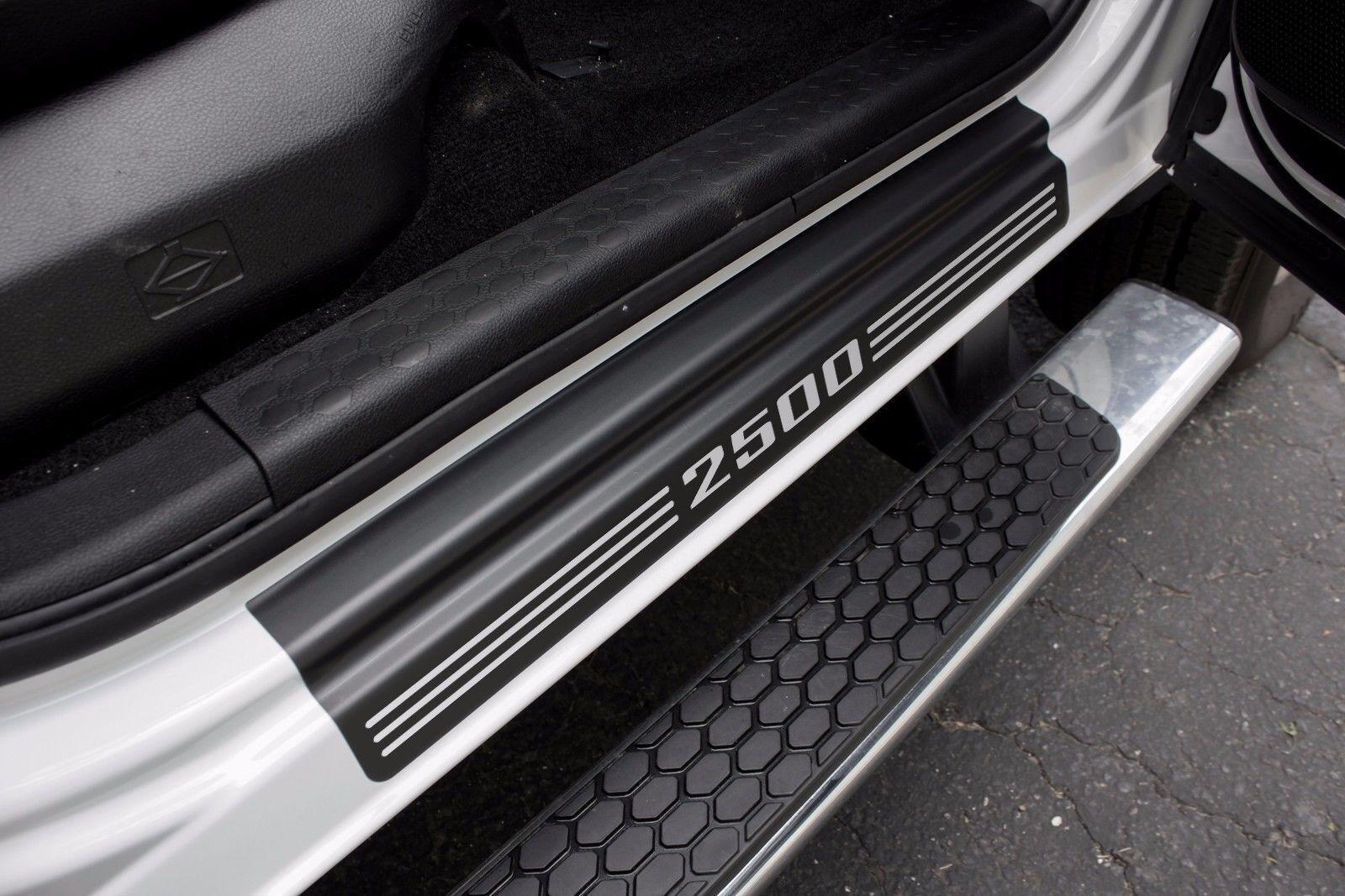 """DOOR SILL PLATE Protectors """"2500"""" fits Dodge Ram Truck 2500 2016 2017 2018 - $28.99   PicClick CA"""