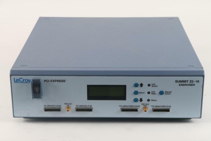 LeCroy Summit Z2-16 Exerciser PCI Express Analyzer